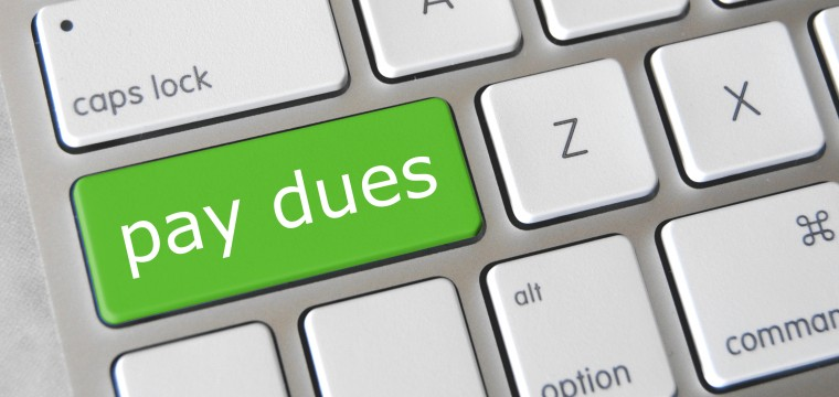 Pay Your Dues Online!
